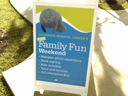 Manatee Lagoon Family Fun Weekend