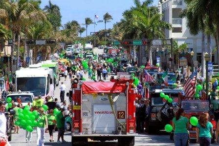 St Patricks Day Parade Delray Beach