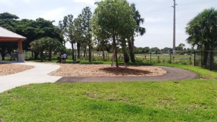 John Prince Park Lake Worth Dog Park walking path