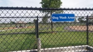Lake Woof Dog Park Dog Wash Area John Prince Park