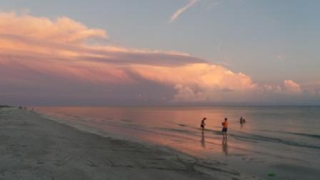 Sanibel Beach Sunset 2017