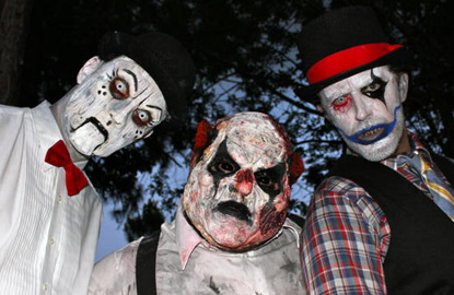 fright nights fairgrounds scary clowns