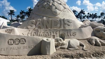 Sandi Holiday Tails Christmas Tree WPB