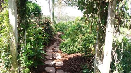 Mounts Garden Path
