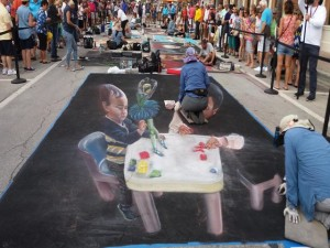 3D Painting LW Street Painting Festival-640x480