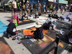 Artists at work LW Street Painting 2019-640x480