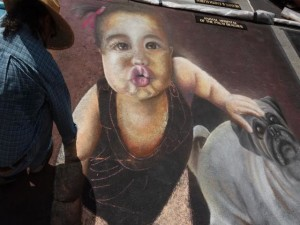 Baby Painting LW Street Painting Festival-640x480