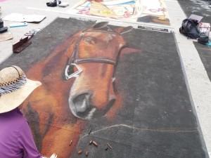 Horse Lake Worth Street Painting 2019-640x480