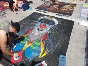 Lake Worth Street Painting Artist-640x480