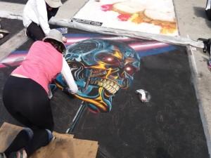Terminator LW Street Painting 2019-640x480
