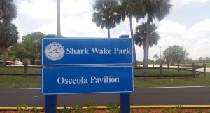 Shark Wake Park sign2019